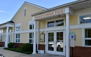 Outdoor photo of new office location for Pennsylvania Pain and Spine Institute